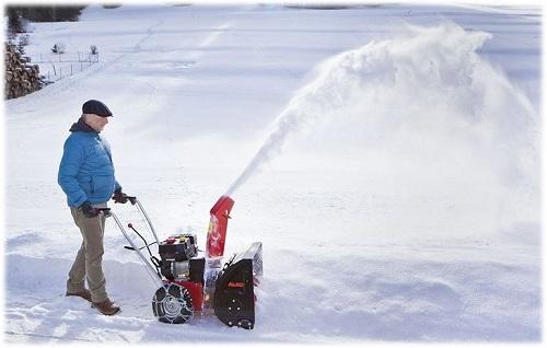 бензиновые снегоуборщики